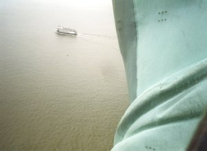 Statue of Liberty, up close and personal - Click for a bigger image