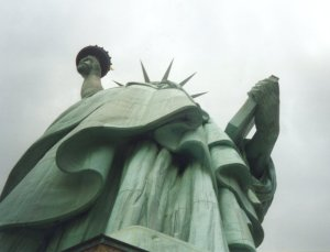 Statue of Liberty, up her skirt - Click for a bigger image